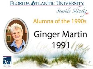 Ginger Martin, Alumna for the 1990s