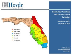 Hovde Florida Four-Year Peer Performance Report