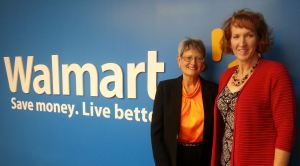 Ginger Martin speaks to Walmart Female Mentors