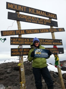 Ginger Kilimanjaro Summit 2