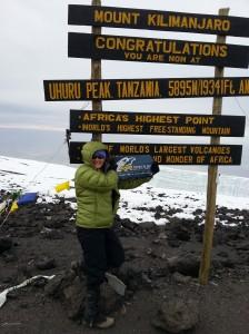 Ginger Kilimanjaro Summit