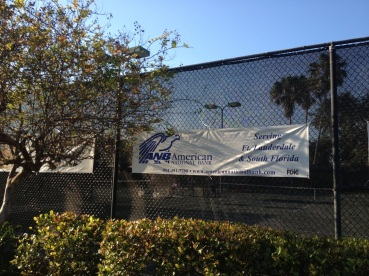 Kiwanis Club Tennis Tournament ANB Banner 1
