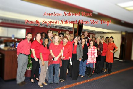 National Wear Red Day 2016