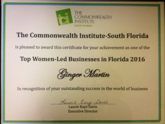 TCI Top Women Led Biz 2016 - 2