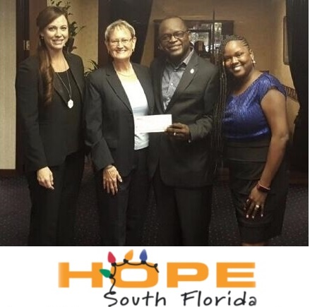 Hope South Florida - ANB Holiday Donation 2017