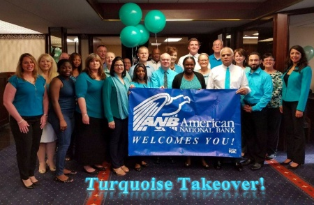Turquoise Takeover - May 11 2018